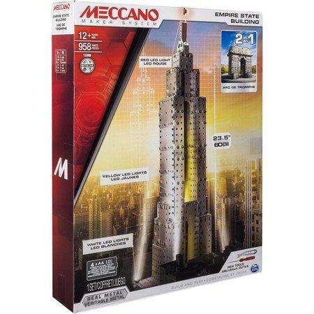 Meccano Bouwset Empire state Building en Arc De Thriomphe