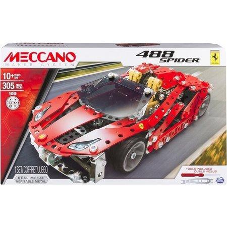 Meccano Bouwset Ferrari GTB 488 Roadster