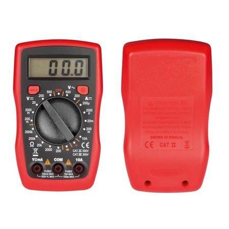 Velleman Digitale Multimeter Cat III 300V CAT II 500V - 10A
