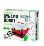 4M Kidzlabs Green Science Dynamo Robot