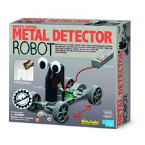 Kidzlabs Metaaldetector Robot