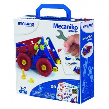 Miniland Mecaniko bouwdoos 74 delig