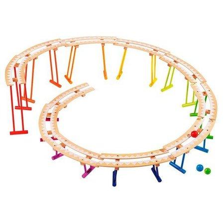 Goki Rollercoaster knikkerbaan bouwdoos