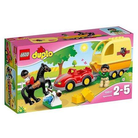 Lego Duplo Paard trailer 10807