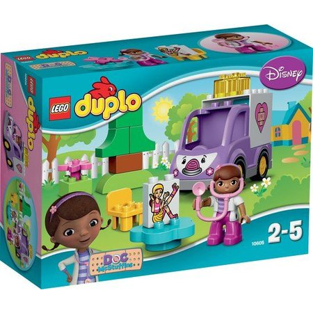 Lego Duplo Doc Mc Stuffins Ambulance 10605