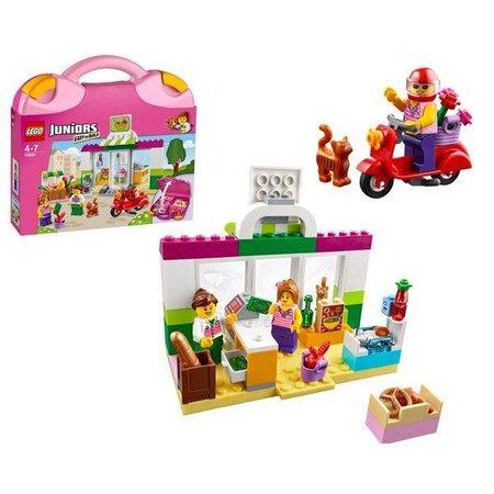 Lego Juniors Supermarkt koffer 10684