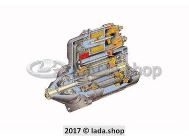 K1. Crank motor and Alternator