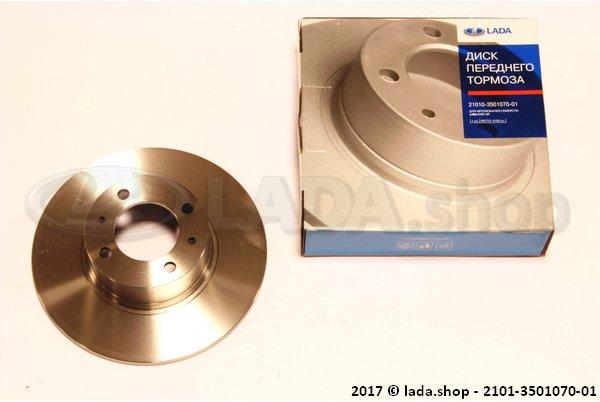 LADA 2101-3501070-01, Disc. voorrem