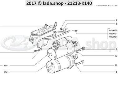 N3 Startmotor en toebehoren
