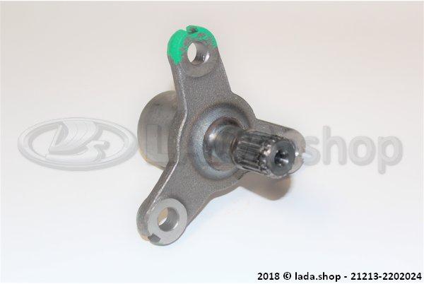 LADA 21213-2202024, Flange elastic coupling between axles