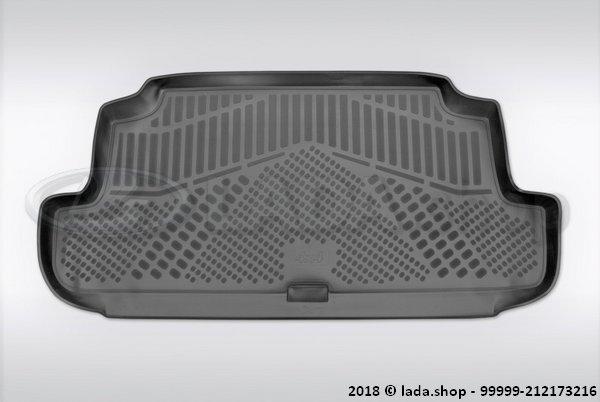 LADA 99999-212173216, Tapijt in de kofferbak van LADA 4x4 3D (originele foto)