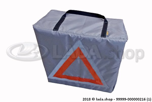 LADA 99999-000000216, Trunk Organizer with Emergency Stop Board