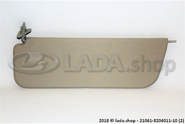LADA 21061-8204011-10, Sun visor left