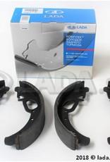 LADA 1118-3502090-86, Brake shoe set Kalina