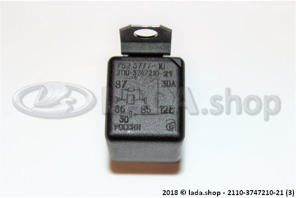 LADA 2110-3747210-21, Relé de 4 contactos (LADA 4x4 Urban)