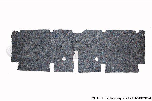LADA 21213-5002054, Piso traseiro com isolamento de ruído