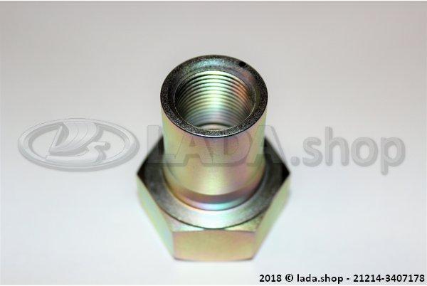 LADA 21214-3407178, De moer van krukas aandrijving van de hydraulische pomp