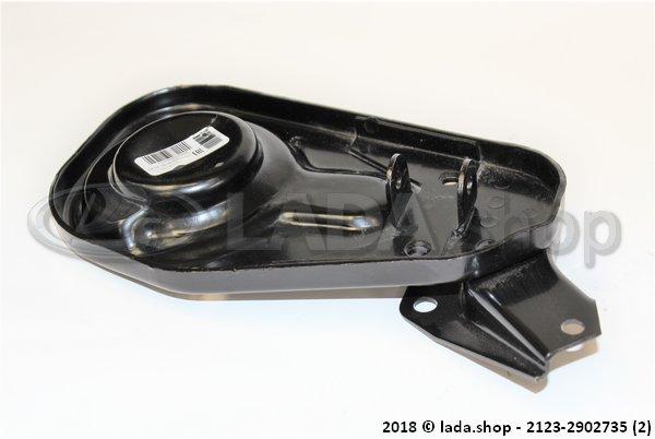 LADA 2123-2902735, Placa da mola da suspensão dianteira esquerda