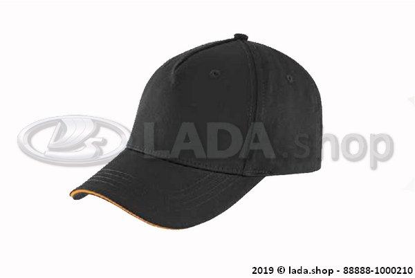 LADA 88888-1000210, Boné de basebol LADA (preto)