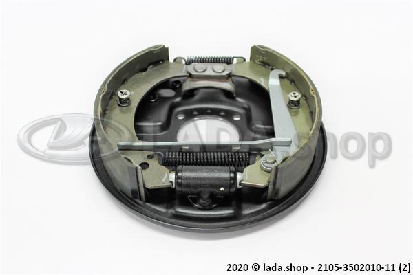 LADA 2105-3502010-11, Rear Brake, RH