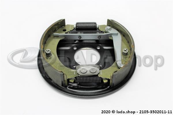 LADA 2105-3502011-11, Rear Brake, LH