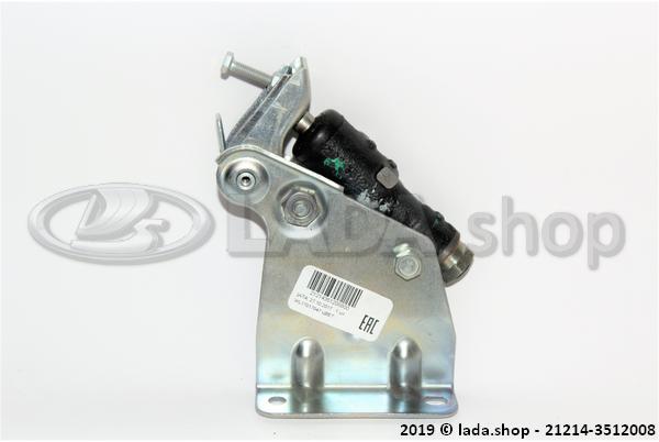 LADA 21214-3512008, Bremsdruckregelung