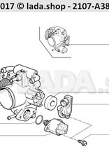 LADA 21203-1148300-81, Idle air bypass valve