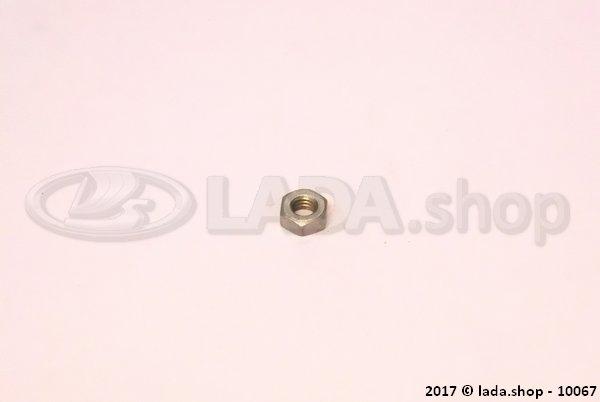 LADA 0000-1000794011, Thin nut M4