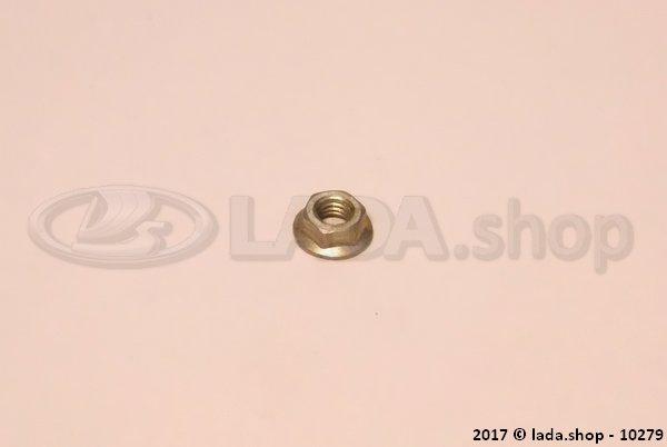 LADA 0000-1003831801, Getande kraag nut M5