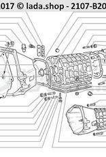 LADA 2101-1701021, Junta tapa inferior