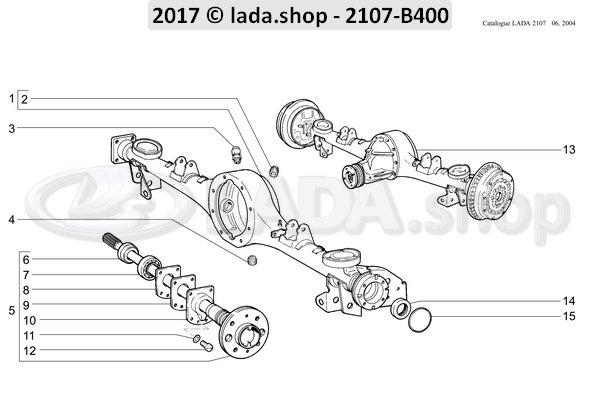 LADA 2101-2403086, Platte