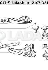 LADA 2101-2904021-01, lower suspension arm. LH