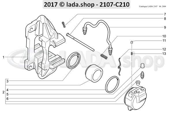 LADA 2101-3501035, Veer