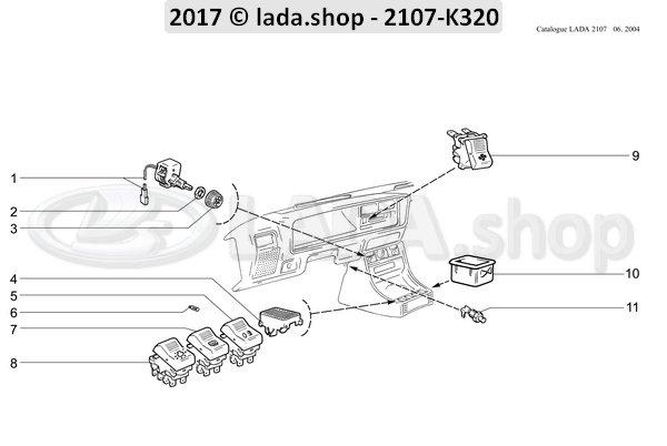 LADA 2101-3803130, Schakelaar