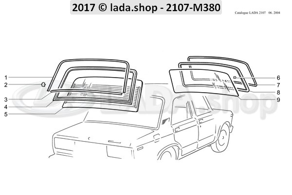 LADA 2101-5207060, scherpen