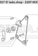 LADA 2101-6201035, Window lifter roller