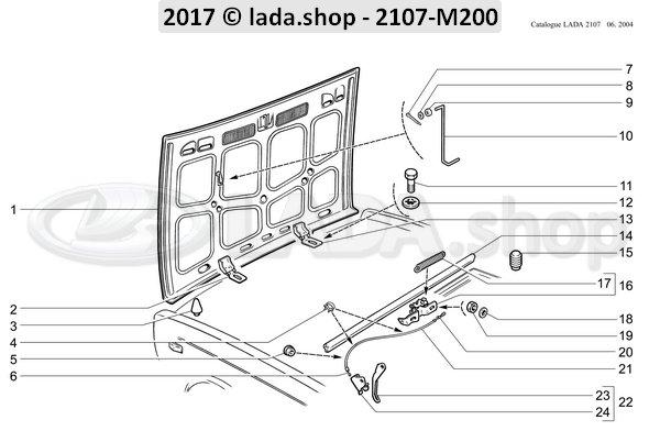 LADA 2101-8406162, Clamp