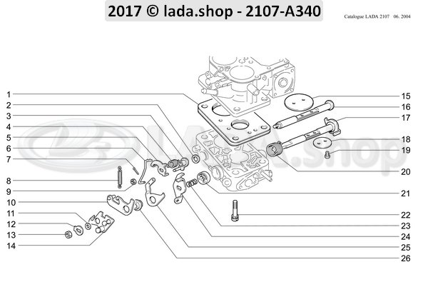 LADA 2103-1107067, Schroef