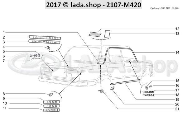 LADA 2103-5701046, Bord
