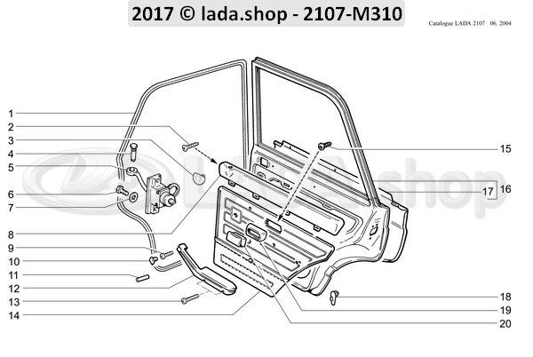 LADA 2103-8203206, Trim kader