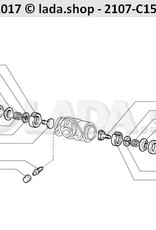 LADA 2105-3502048, glijblok