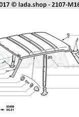 LADA 2105-5004060, Pillar isolatie. RH