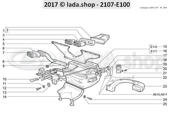 LADA 2105-8108060, Aireador lateral