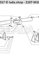 LADA 2105-8201280, Apoyo de articulación de espejo izq.