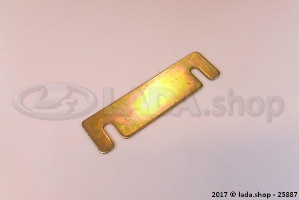 LADA 2121-1801044, Placa de regulacion 3 mm