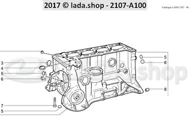 C7 Bloco de cilindro
