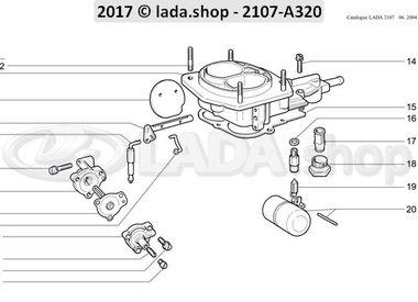 C7 Carburateur deksel