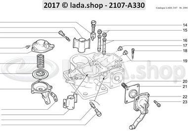 C7 Carburetor body