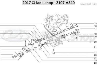 C7 Throttle valve behuizing