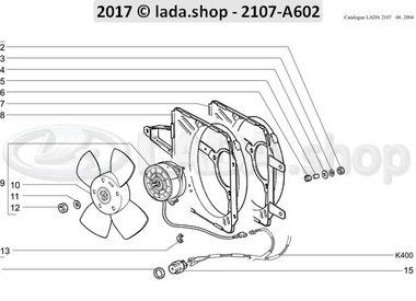 C7 Ventilador elétrico